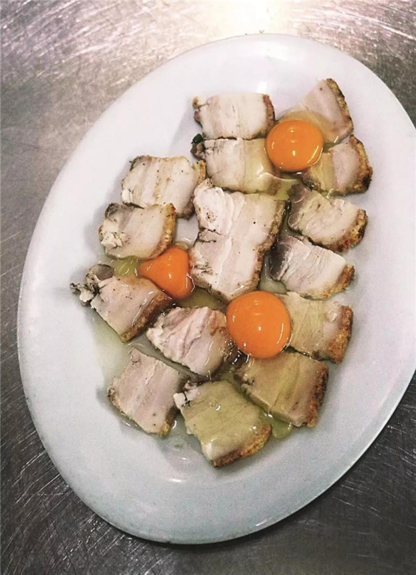 【粤菜】虾酱蒸鸡蛋烧腩